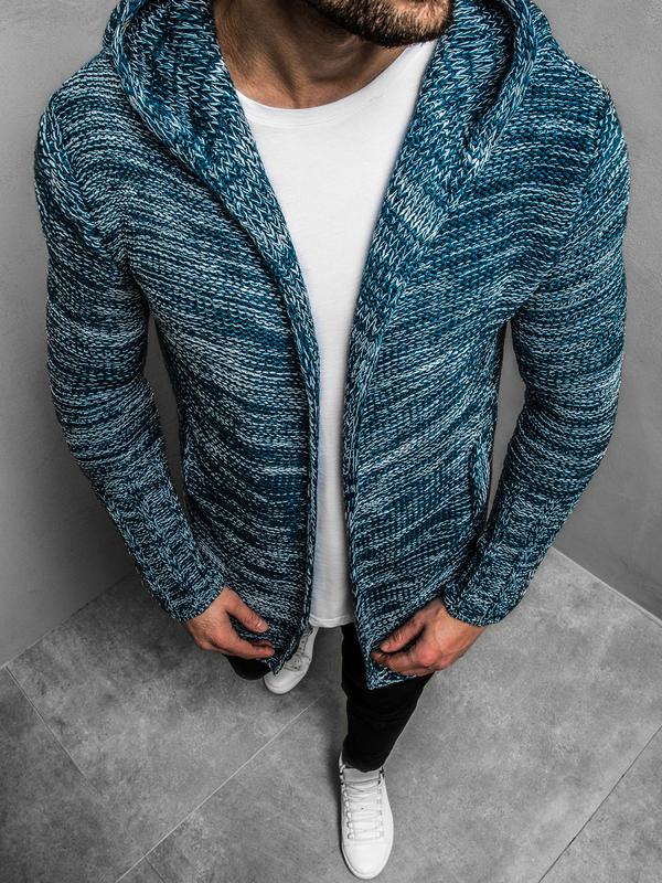 Niebieski sweter Ozonee
