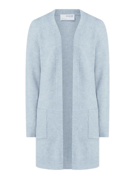 Niebieski sweter Selected Femme