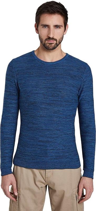 Niebieski sweter Tom Tailor z bawełny