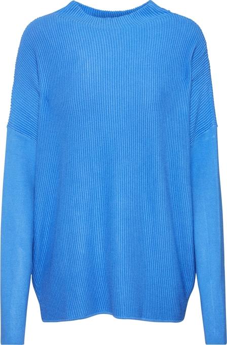 Niebieski sweter Tom Tailor z dzianiny