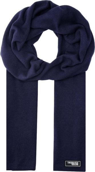 Niebieski szal męski Trussardi Jeans