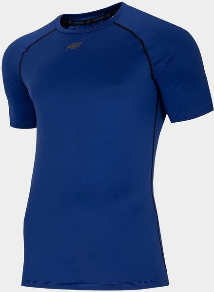 Niebieski t-shirt 4F w sportowym stylu