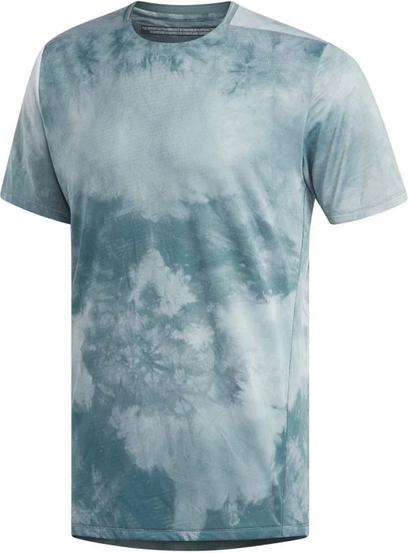 Niebieski t-shirt Adidas