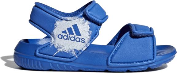Niebieskie buty dziecięce letnie Adidas