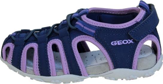 Niebieskie buty dziecięce letnie Geox