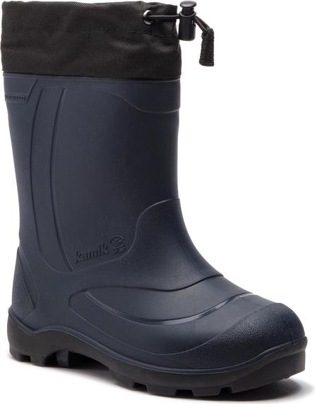 Niebieskie buty dziecięce zimowe Kamik