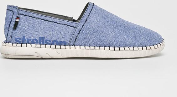 Niebieskie buty letnie męskie Strellson