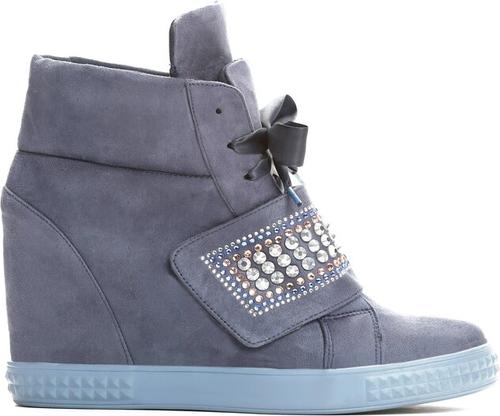 Niebieskie buty sportowe Multu