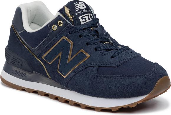 Niebieskie buty sportowe New Balance