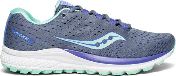 nowy Niebieskie buty sportowe Saucony sznurowane z płaską