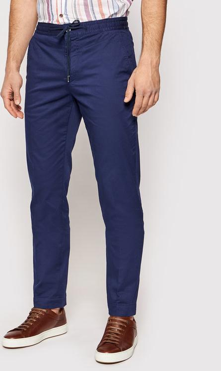 Niebieskie chinosy Tommy Hilfiger w stylu casual