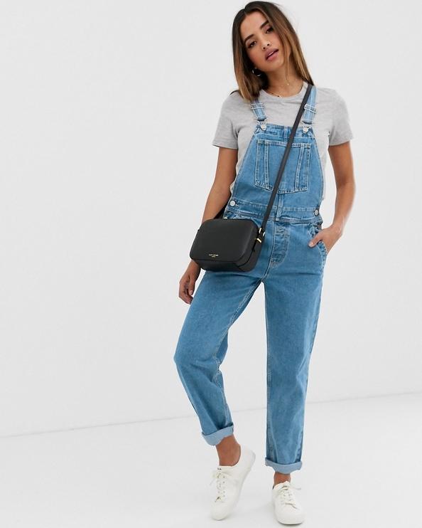 Niebieskie jeansy Asos
