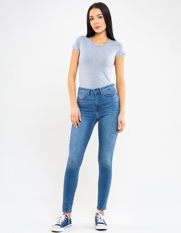 Niebieskie jeansy Big Star z jeansu