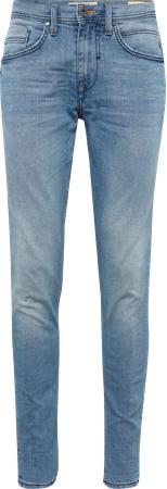 Niebieskie jeansy blend w street stylu