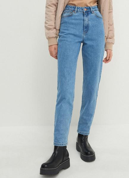 Niebieskie jeansy House z jeansu w stylu casual