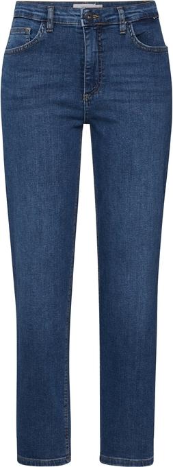 Niebieskie jeansy Ichi w street stylu
