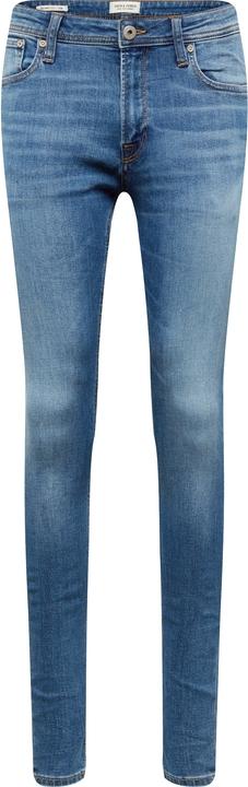 Niebieskie jeansy Jack & Jones w street stylu
