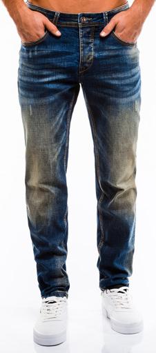 Niebieskie jeansy Ombre