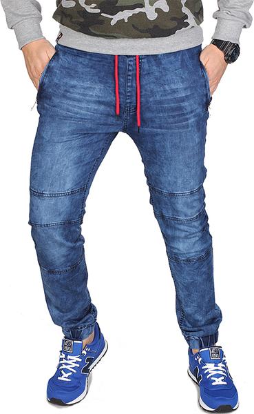 Niebieskie jeansy RED FIREBALL