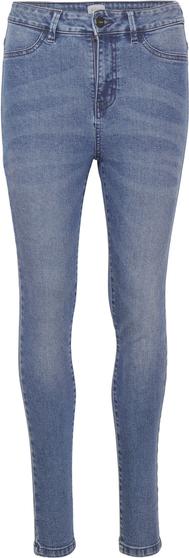 Niebieskie jeansy Saint Tropez z jeansu w street stylu