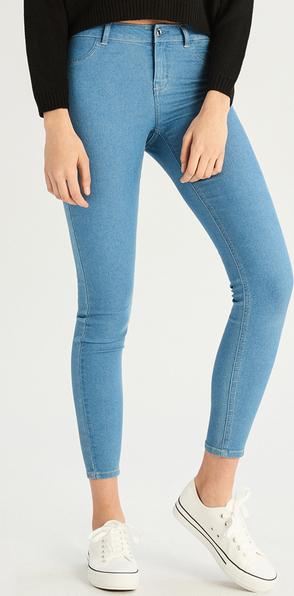 dobry Jeansy Sinsay z jeansu Odzież Damskie Spodnie damskie