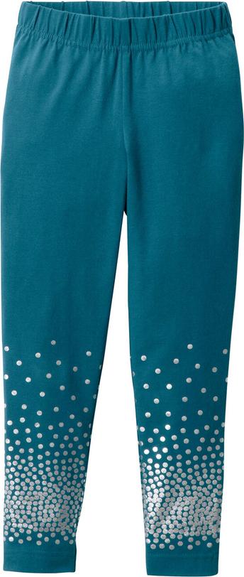 Niebieskie legginsy dziecięce bonprix bpc bonprix collection