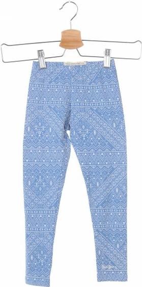 Niebieskie legginsy dziecięce Pepe Jeans