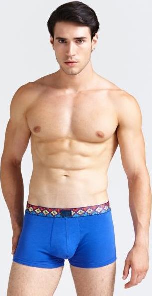 Niebieskie majtki Guess z bawełny