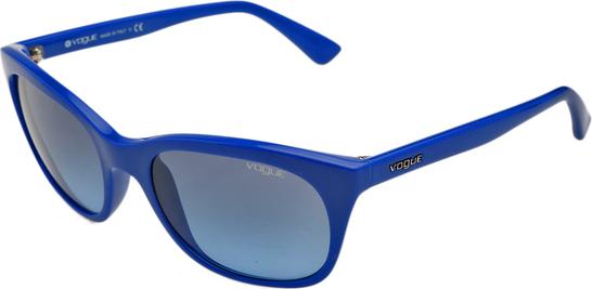 Niebieskie okulary damskie Vogue