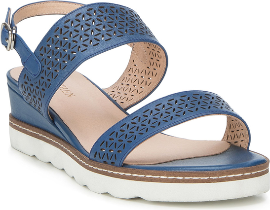 Niebieskie sandały Wittchen w stylu casual