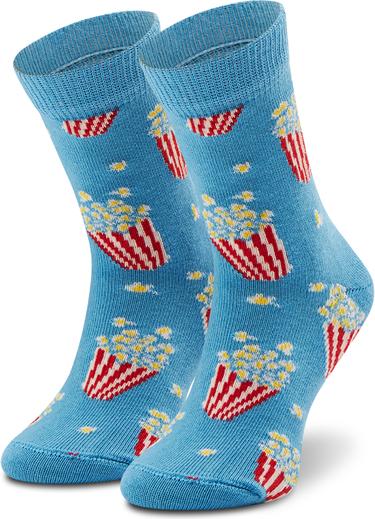 Niebieskie skarpetki Happy Socks dla chłopców