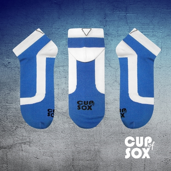 Niebieskie skarpety Cupofsox Men