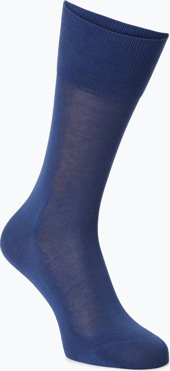 Niebieskie skarpety Falke