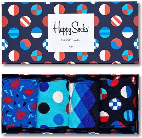 Niebieskie skarpety Happy Socks