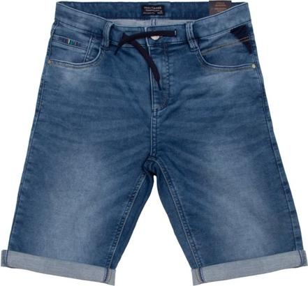 Niebieskie spodenki dziecięce Mayoral z jeansu