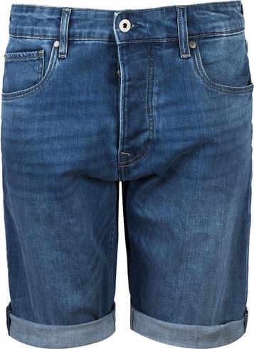 Niebieskie spodenki Pepe Jeans w stylu casual
