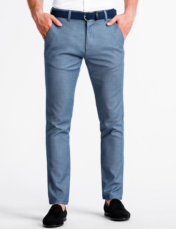 Niebieskie spodnie Ombre_Premium