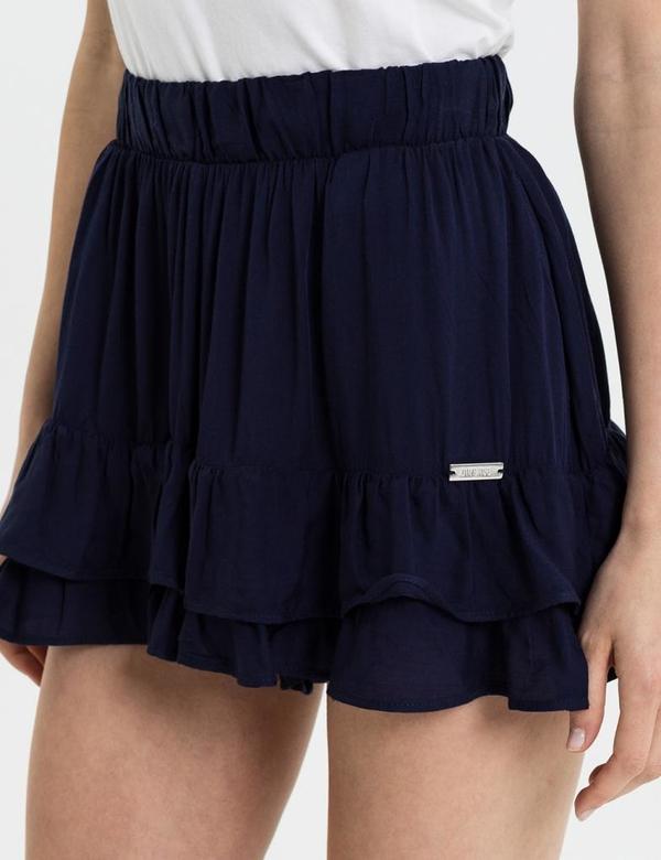 Niebieskie szorty diversesystem w stylu casual
