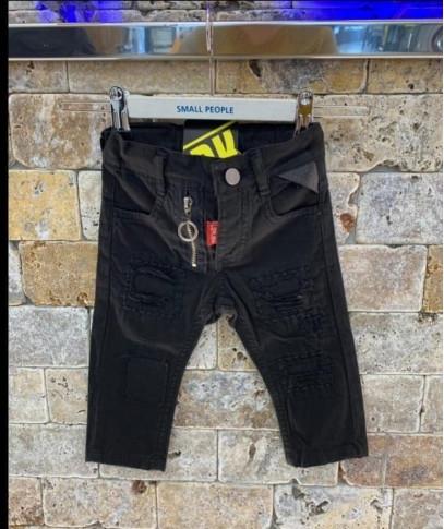 Odzież niemowlęca skladmaterialu z jeansu