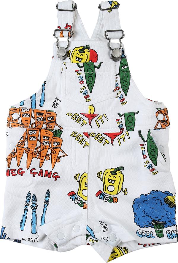 Odzież niemowlęca Stella McCartney dla chłopców z bawełny