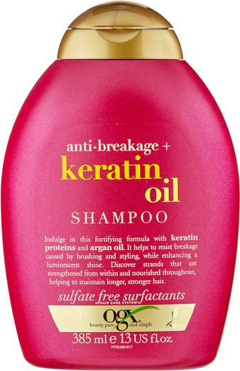 OGX Anti-Breakage Keratin Oil | Szampon przeciwdziałający łamliwości 385ml - Wysyłka w 24H!