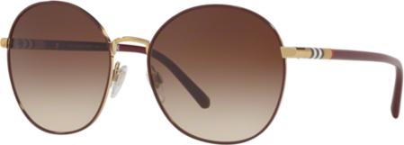 Darmowa dostawa Brązowe okulary damskie Burberry Akcesoria Damskie Okulary damskie PZ OPADPZ-2