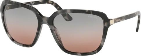 Okulary damskie Prada ze skóry