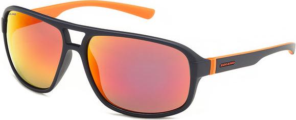 Okulary przeciwsłoneczne SS20474 Solano (granatowo-pomarańczowe)