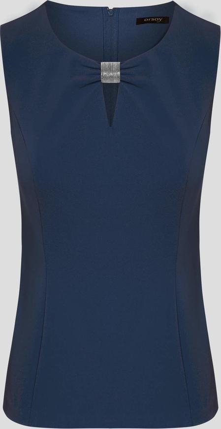 Orsay dopasowana bluzka z koralikiem