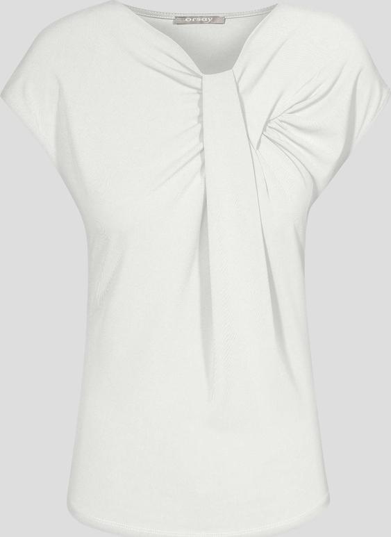 Orsay koszulka z zakładką na dekolcie