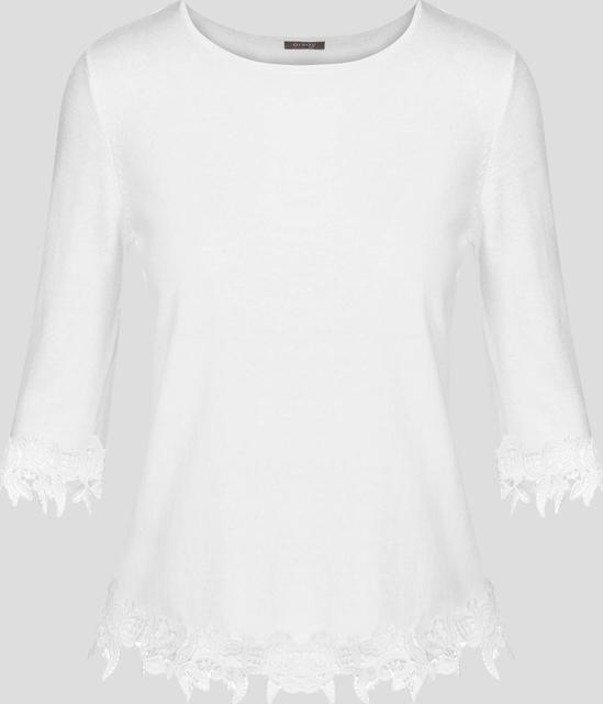 Orsay sweter wykończony koronką