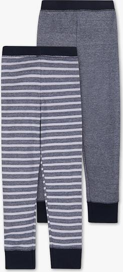Palomino C&A Długie kalesony-bawełna bio-2 pary, Niebieski, Rozmiar: 98/104