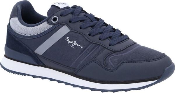 Pepe Jeans London Sneakersy CROSS 4 CLASSIC | z dodatkiem skóry