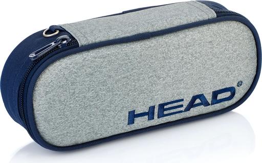 Piórnik szkolny / etui HEAD szary melanż HD-66 A
